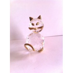 ANIMAUX EN CRISTAL COLLECTION CHAT