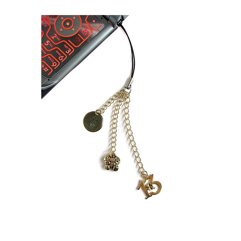 Bookmaker cell phone charm