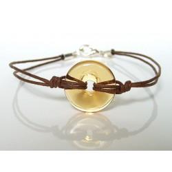 Bracelet Eulalia abricot