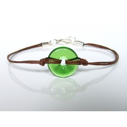 Bracelet Eulalia chartreuse