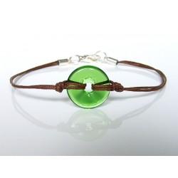 Eulalia chartreuse bracelet