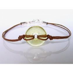 Bracelet Eulalia citrine bullé