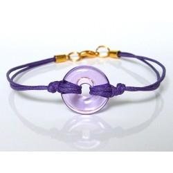 Eulalia lilac bracelet