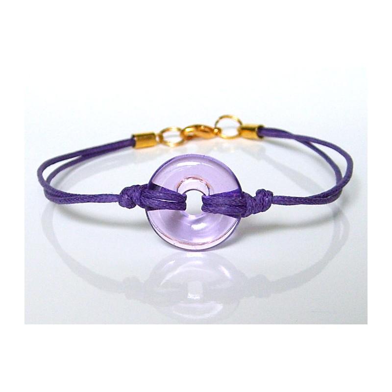 Bracelet Eulalia lilas