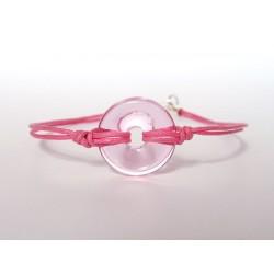 Eulalia pink bracelet