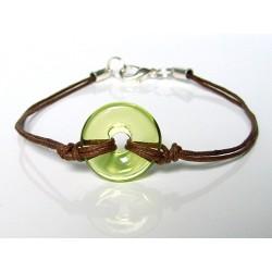 Bracelet Eulalia absinthe