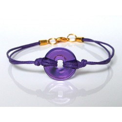 Eulalia purple bracelet