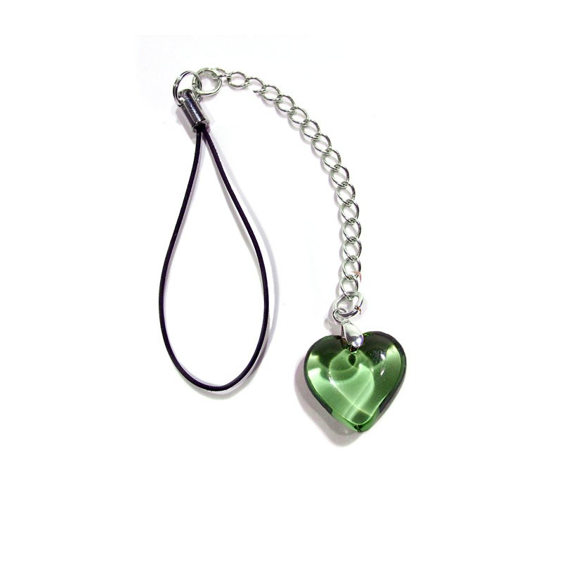 Bijou de portable Valentinette chartreuse