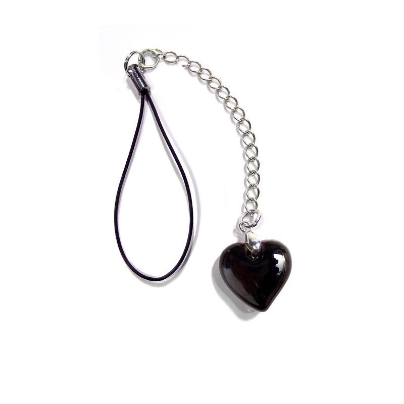 Bijou de portable Valentinette noir