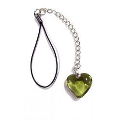 Bijou de portable Valentinette olivine