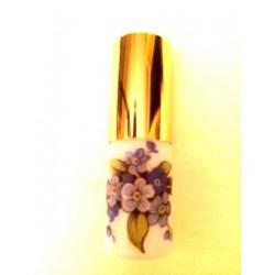 SMALL RECHARGEABLE OPALINE GLASS BAG VAPORIZER BOUQUET DECORATION
