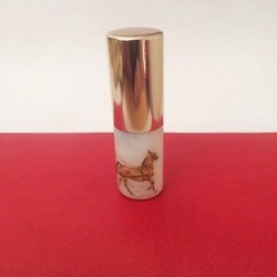 SMALL RECHARGEABLE OPALINE GLASS BAG VAPORIZER DECOR CALECHE