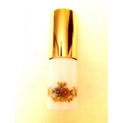 SMALL RECHARGEABLE OPALINE GLASS BAG VAPORIZER GARLAND DECOR