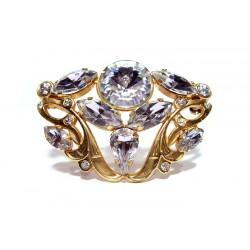 Broche avec strass en cristal de Swarovski - Broches - Accessoires de Mariage