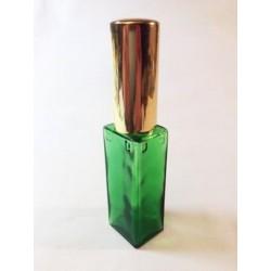 LARGE GREEN RECTANGULAR GLASS BAG VAPORIZER
