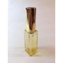 LARGE YELLOW RECTANGULAR GLASS BAG VAPORIZER