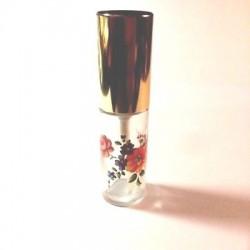 LARGE FLORAL DECOR GLASS BAG VAPORIZER