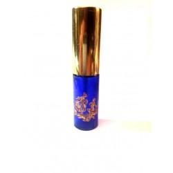 MEDIUM BAG VAPORIZER BLUE DE SEVRES COTELE GLASS ROSE GOLD DECORATION
