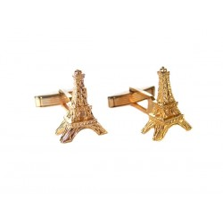 Eiffel Tower Cufflinks - Accessories