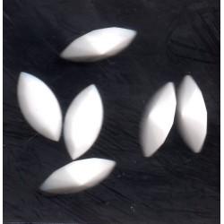 STRASS SHUTTLE 4200 - 10 SHUTTLES 15X7 WHITE RICE