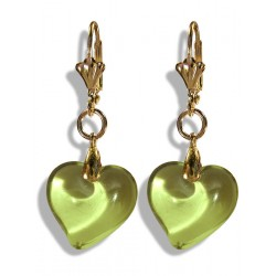 Valentinette absinth earrings