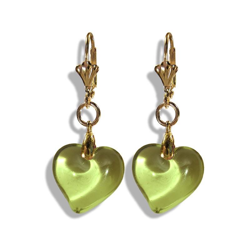 Valentinette absinth earrings