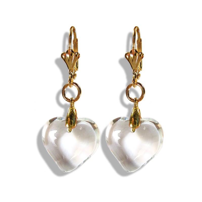 Boucles d'oreilles Valentinette cristal