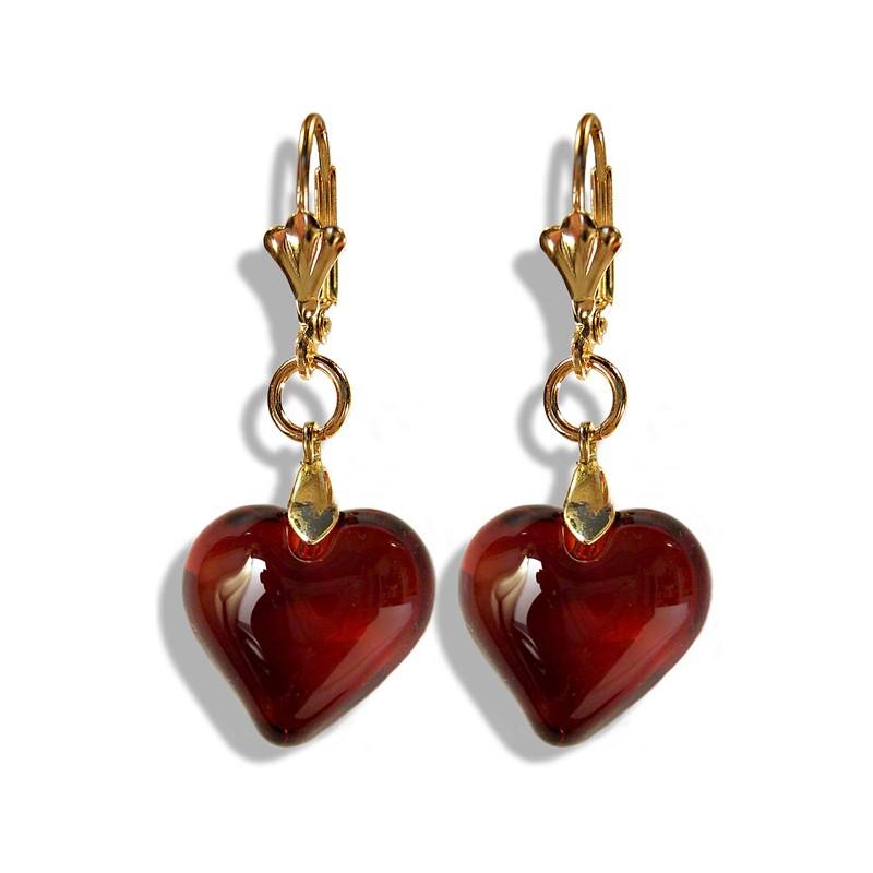 Valentinette topaz earrings