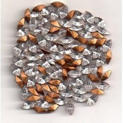 STRASS SHUTTLE 4200 - 10 SHUTTLES 8X4 CRISTAL