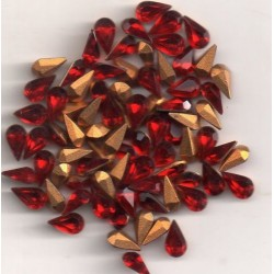 20 STRASS PEARS ARTICLE 4300/2 - 6X3.6 SIAM
