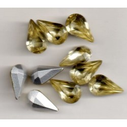 10 STRASS PEARS ARTICLE 4300 - 13X7.8 DAFFODIL