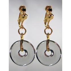 Eulalia grey earrings