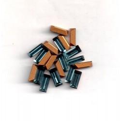 20 STRASS BAGUETTES - ART 4501 - 7X3 - INDIAN SAPHIR