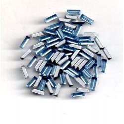 24 STRASS BAGUETTES - ART 4501 - 5x2 - ALUMINIUM