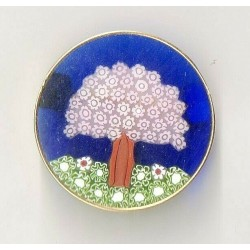 MURINE BROOCH 38 MM GOLD-PLATED