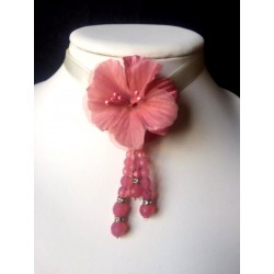 SPECIAL WEDDING PINK NECKLACE