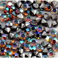 50 ROUND STRASS PP25 - 3,2 MM IRISE