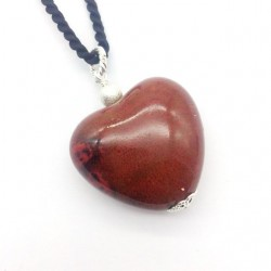 BROWN AGATE CROWN NECKLACE