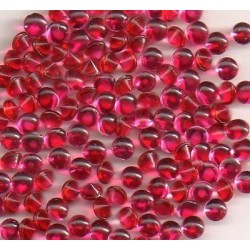 50 ROUND STRASS PP27 - 3,4 MM PINK MOLDED STONE