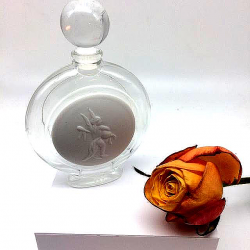 75 ML PERFUMERY BOTTLE FRENCH MADE WITH CUPID ANGEL BISCUIT