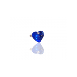 SAPPHIRE HEART CRYSTAL VALENTINETTE RING