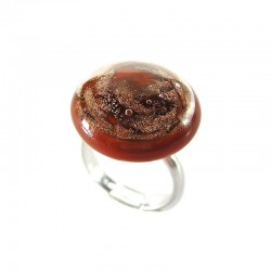 HERSILIE SQUIRREL CRYSTAL RING