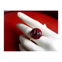RED CLIMAX CRYSTAL RING