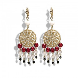 RED ATTRAPE REVES EARRINGS