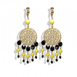 YELLOW ATTRAPE REVES EARRINGS