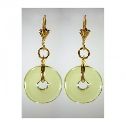 PI CHINESE ABSINTAL CRYSTAL EARRINGS