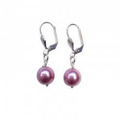 PINK PEARL NACREE EARRINGS