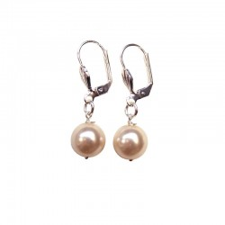 IVORY PEARL PEARL EARRINGS