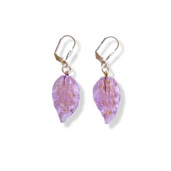 PARMA CRYSTAL LEAF EARRINGS