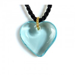 copy of COLLIER COEUR VALENTINA GRIS EN CRISTAL